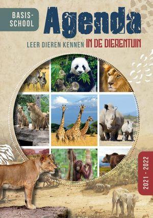 Basischoolagenda 2021/22 'Leer dieren kennen uit de dierentuin'