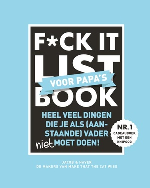 F*ck it list Book voor papa's