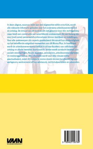 Memo Plus Arbeidsovereenkomst en Ontslag 2020
