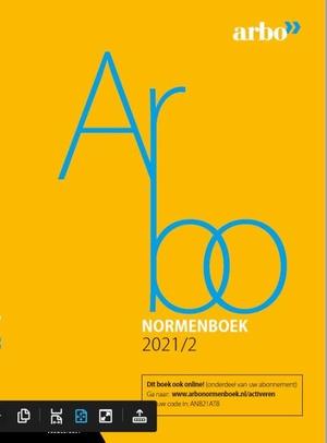 Arbonormenboek 2021/2