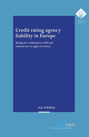 Credit rating agency liability in Europe