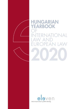 Hungarian Yearbook of International and European Law 2020