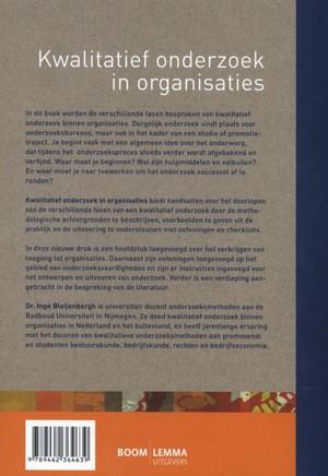 Kwalitatief onderzoek in organisaties