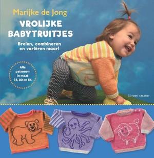 Vrolijke babytruitjes breien