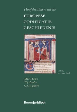 Hoofdstukken uit de Europese Codificatiegeschiedenis