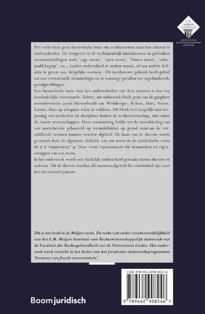 Een algemene normtheorie toegepast op open normen in het belastingrecht