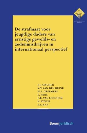 De strafmaat voor jeugdige daders van ernstige gewelds- en zedenmisdrijven in internationaal perspectief