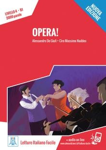 Letture Italiano Facile - Opera! (livello B1) + Online Mp3