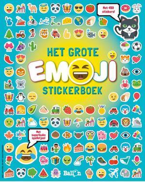 Emoji stickerboek