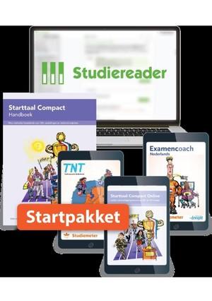 Studiereader Starttaal Compact 2F/3F 12M Startpakket