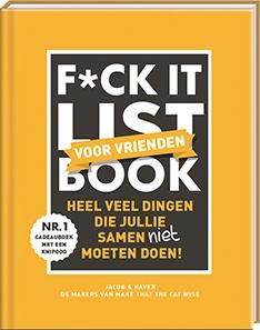 F*ck it list book voor vrienden