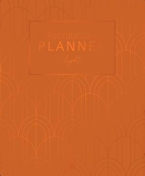 Structuurjunkie planner Art Deco (gebrand oranje)