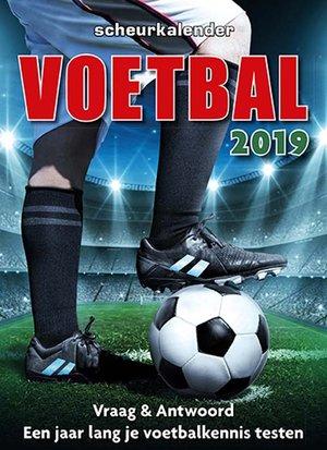 Voetbal scheurkalender 2019