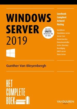 Het complete boek Windows Server 2019