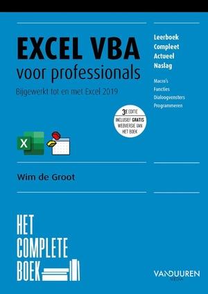 Excel VBA voor professionals, 3e editie