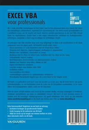 Het Complete Boek: Excel VBA voor professionals, 3e editie