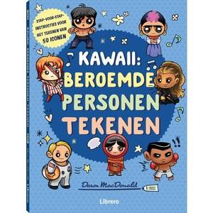 Kawaii: beroemde personen tekenen