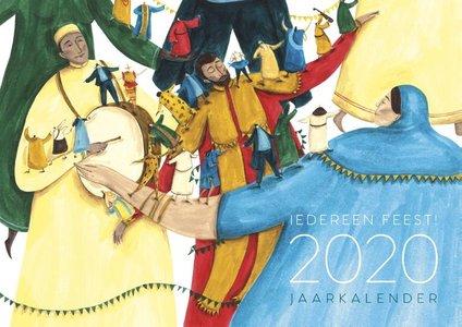 Iedereen feest 2020 - kalender