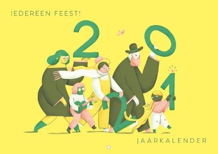 Iedereen feest 2021 - kalender