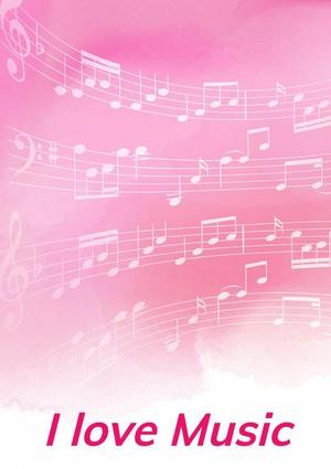 Notenschrift- Notenbalken- Pinky- (A5) Allets Comfort