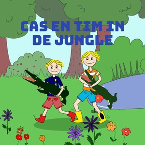 cas en tim in de jungle
