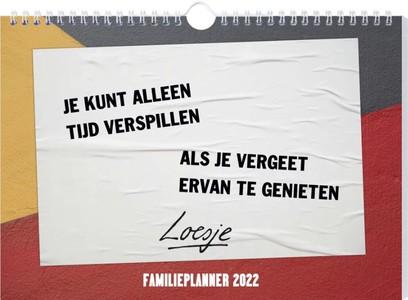 Loesje familieplanner - 2022