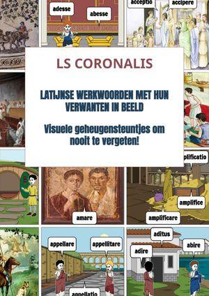 Latijnse werkwoorden met hun verwanten in beeld