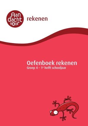 Oefenboek Rekenen Groep 4 - 1e helft schooljaar