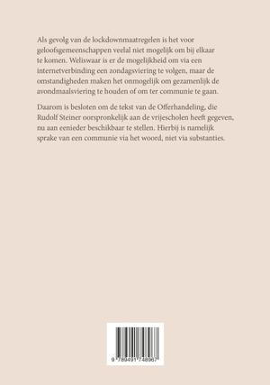 Coronamaatregelen en de Offerhandeling van Rudolf Steiner