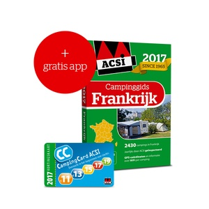 ACSI Campinggids Frankrijk 2017 + app