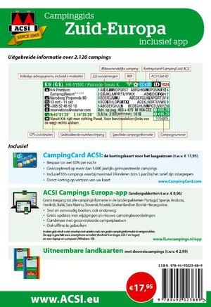 ACSI Campinggids Zuid-Europa 2020