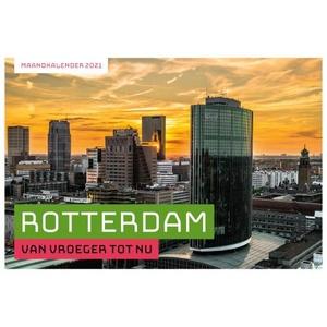 Rotterdam - van vroeger tot nu - Maandkalender 2021