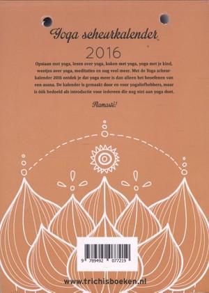 Yoga scheurkalender 2016
