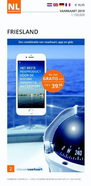 Vaarkaart Friesland 2019