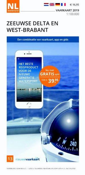 Vaarkaart Zeeuwse Delta en West-Brabant 2019