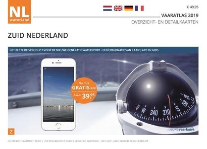 NLWaterland app incl. wateratlas Nederland Zuid 2019