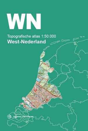 Topografische Atlas 1:50.000 West-Nederland