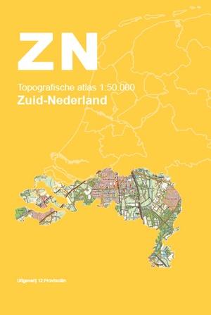 Topografische Atlas 1:50.000 Zuid-Nederland