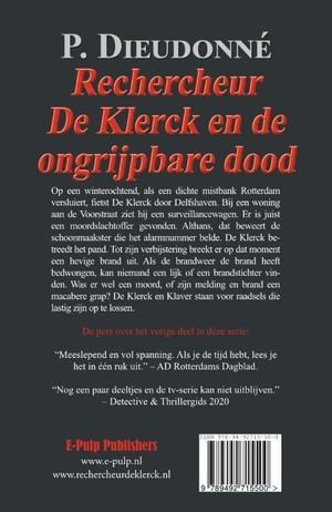 Rechercheur De Klerck en de ongrijpbare dood