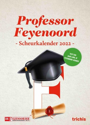 Professor Feyenoord Scheurkalender 2022