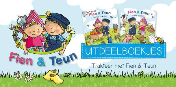 Fien & Teun - uitdeelboekjes