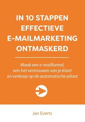 In 10 stappen effectieve e-mailmarketing ontmakerd