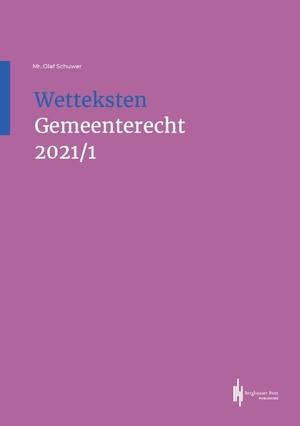 Wetteksten Gemeenterecht 2021/I