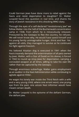 Defiant German, Defiant Jew