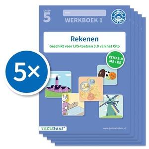 Rekenen werkboek 1 (Set van 5)