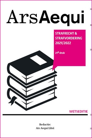 Strafrecht & strafvordering 2021/2022