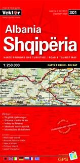 Albanië big map