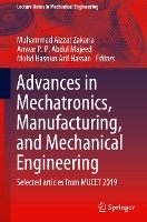 Advances In Mechatronics, Manufacturing, And Mechanical Engineering