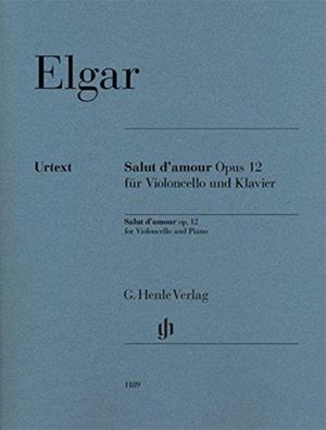 Salut d'amour op. 12 für Violoncello und Klavier